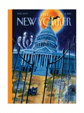 Haunted House - The New Yorker Cover  October 21  2013