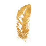 Gold Feather (gold foil)