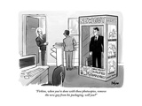 """Firkins  when you're done with those photocopies  remove the new guy from"" - New Yorker Cartoon"