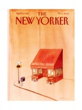 The New Yorker Cover - April 5  1982