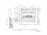 """Medical Wine"" - New Yorker Cartoon"