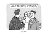 """Eye dew"" - New Yorker Cartoon"