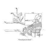 """""""I need you to honk"""" - New Yorker Cartoon"""