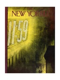 The New Yorker Cover - January 1  1955