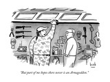 """""""But part of me hopes there never is an Armageddon"""" - New Yorker Cartoon"""