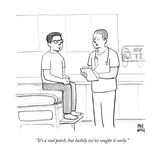 """""""It's a soul patch  but luckily we've caught it early""""  - New Yorker Cartoon"""