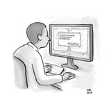 """""""The internet wants to destroy your productivity""""  - New Yorker Cartoon"""