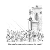 """""""I learned about the despotism at the same time you did"""" - New Yorker Cartoon"""