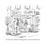 """""""I want to be whichever Disney princess is the most bad-assed"""" - New Yorker Cartoon"""