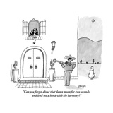 """""""Can you forget about that damn moon for two seconds and lend me a hand wi"""" - New Yorker Cartoon"""