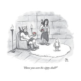 """""""Have you seen his sippy skull"""" - New Yorker Cartoon"""