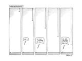 """""""Arachnophunnies"""" - New Yorker Cartoon"""
