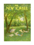 The New Yorker Cover - August 12  1961