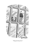 """""""They fixed the printer"""" - New Yorker Cartoon"""