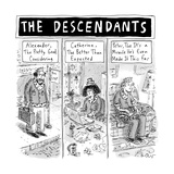 The Descendants - New Yorker Cartoon