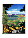 California - The Golden West