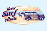 Never Surf Alone