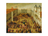 Tournament in Piazza Castello in Honour of the Wedding of Victor Amadeus I and Christine of France
