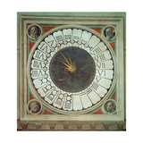Canonical Clock with the Heads of Four Prophets  Completed 1443