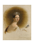 Portrait of Queen Victoria  1838