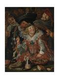 Shrovetide Revellers (The Merry Company) c1615