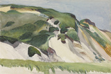 Dune at Truro, 1930 Giclée par Edward Hopper