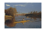 The Champion Single Sculls (Max Schmitt in a Single Scull)  1871