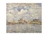 The Seine at Point du Jour  1877
