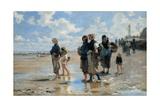 En route pour la pêche  or Setting Out to Fish  1878