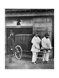 Public Disinfectors  from 'Street Life in London'  1877