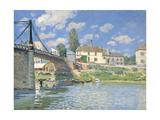 The Bridge at Villeneuve-la-Garenne  1872