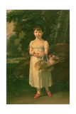 Portrait of Amelia Oginski  1808