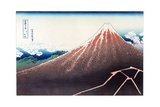 Sanka Haku from 36 views of Mount Fuji  pub c1890