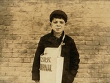 Tony Casale known as 'Bologna' Aged 11  Selling Papers for 4 Years  1909