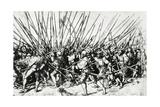 Swiss and Landsknecht Soldiers in Combat