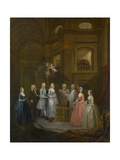The Wedding of Stephen Beckingham and Mary Cox  1729