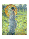 Woman with a Parasol  c 1906