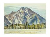 Mount Moran  1946