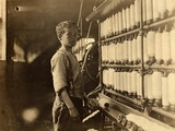 John Dempsey  11 or 12 Years Old  Saturday Worker in the Mule-Spinning Room at Jackson Mill