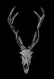 Silver Foil Rustic Mount I on Black Reproduction d'art par Vision Studio