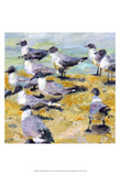 Sea Birds Watercolor I