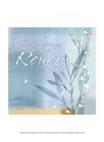 Blue Floral Inspiration VII