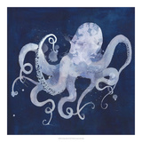 Octopus Shadow II Reproduction d'art par Grace Popp
