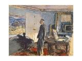 Portrait of Pierre Bonnard in His Studio