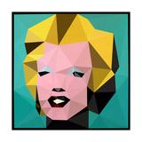 Icon Marilyn Reproduction d'art par Enrico Varrasso