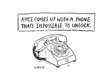 Impossible to lock phone - Cartoon