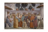 Raising of the Son of Theophilus  1427-85