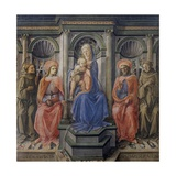 Madonna with Child and Four Saints  1440-45