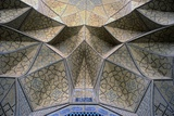 Friday Mosque  Isfahan  Iran  12th C Detail: Western Iwan with Ceramic Mosaics on Muqarnas