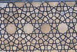 Decoration of the Base of the Facade in the Mosque-Sanctuary of the Maulana  Tayebad  Iran  1445
